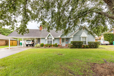Gulfport Single Family Home For Sale: 15113 Rosewood St