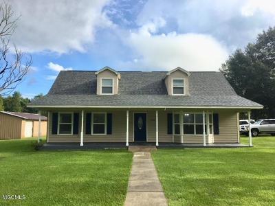 Pass Christian Single Family Home For Sale: 12261 Lloyd Ladner Rd