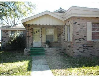 Gulfport Single Family Home For Sale: 3901 16th St