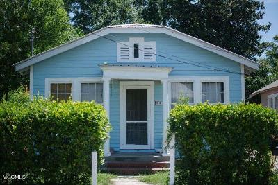 Biloxi MS Single Family Home For Sale: $91,000