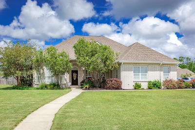 Ocean Springs Single Family Home For Sale: 6105 E Mossy Oak Dr
