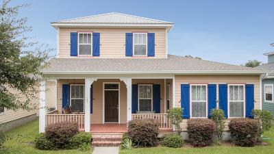 Bay St. Louis Single Family Home For Sale: 502 John Baptiste St