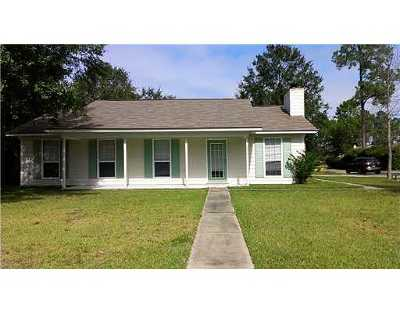 Ocean Springs Single Family Home For Sale: 8920 Marina Ave