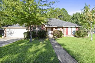 Ocean Springs Single Family Home For Sale: 1210 Magnolia Bayou Blvd