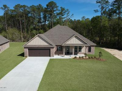 Ocean Springs Single Family Home For Sale: 11713 Brookstone Dr