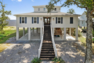 Ocean Springs Single Family Home For Sale: 5017 E Belle Fontaine Dr