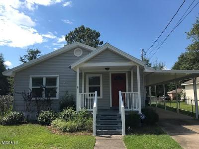 Ocean Springs Single Family Home For Sale: 411 Russell Ave
