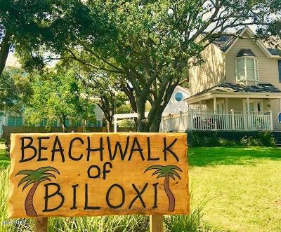 Biloxi Condo/Townhouse For Sale: 1318 B Beach Blvd #6