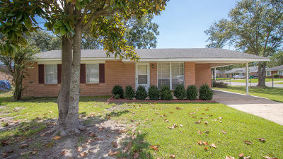 Biloxi Single Family Home For Sale: 16021 Waycross Dr