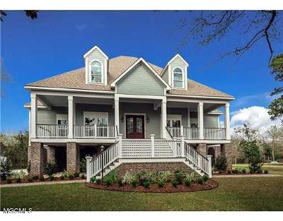 Ocean Springs Single Family Home For Sale: 111 Spanish Point Rd