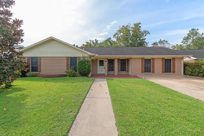 Biloxi Single Family Home For Sale: 2165 Baywood Dr
