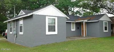 Pascagoula MS Multi Family Home For Sale: $89,000