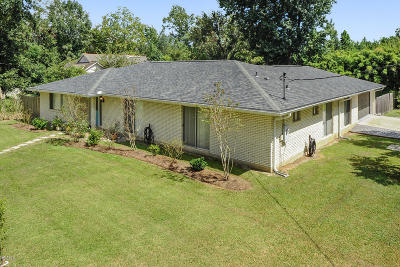 Waveland Single Family Home For Sale: 503 Jeff Davis Ave