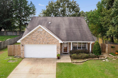Ocean Springs Single Family Home For Sale: 5915 Chicopee Trce