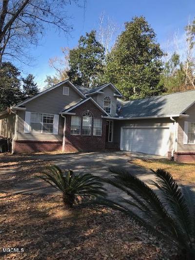 Ocean Springs Single Family Home For Sale: 2909 N 1st St