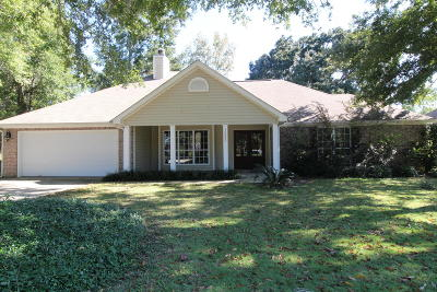 Biloxi Single Family Home For Sale: 10680 Shorecrest Rd