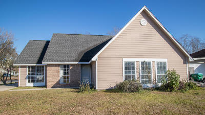 Gulfport MS Single Family Home For Sale: $132,500