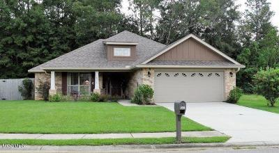 Gulfport Single Family Home For Sale: 10518 Roundhill Dr