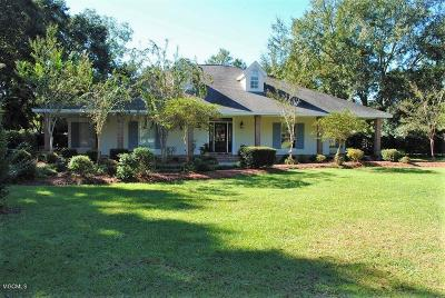 Long Beach Single Family Home For Sale: 20169 Pineville Rd
