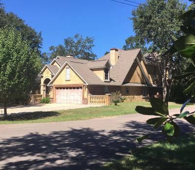 Ocean Springs Single Family Home For Sale: 4900 Deborah St