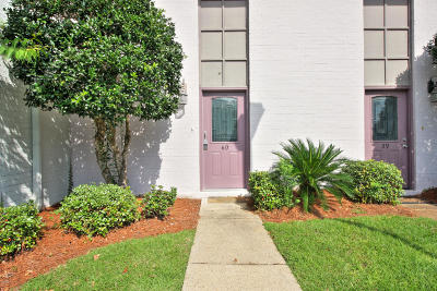 Ocean Springs Condo/Townhouse For Sale: 3230 Cumberland Rd #60