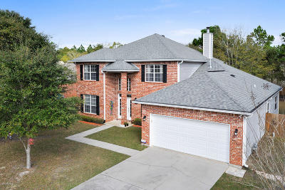 Ocean Springs Single Family Home For Sale: 7712 Clamshell Ave