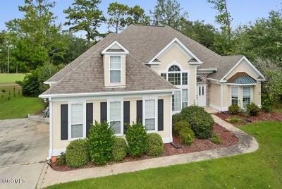 Diamondhead Single Family Home For Sale: 756 Cherryhill Dr