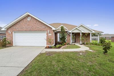 Gulfport Single Family Home For Sale: 17394 Gentry Dr