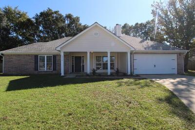 Biloxi Single Family Home For Sale: 10114 Skyhawk Ct