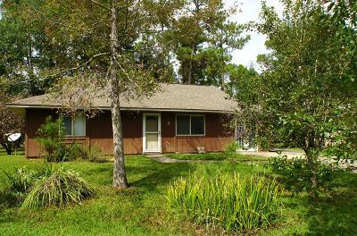 Diamondhead Single Family Home For Sale: 3 N Timber