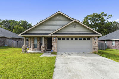 Gulfport Single Family Home For Sale: 13218 Tyler Ln