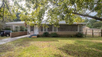 Gulfport MS Single Family Home For Sale: $118,500