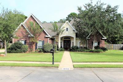 Ocean Springs Single Family Home For Sale: 808 Canebrake Dr