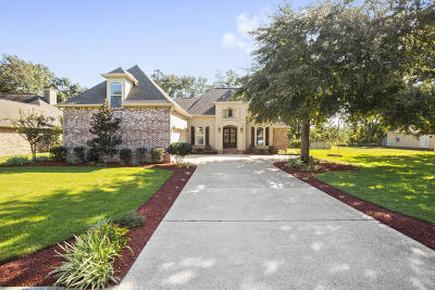 Ocean Springs Single Family Home For Sale: 3009 Oakleigh Cir