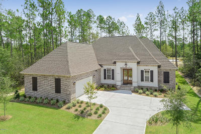 Gulfport Single Family Home For Sale: 12512 Westwood Pl