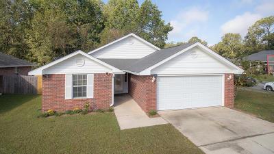 gulfport Single Family Home For Sale: 12311 Amanda Way