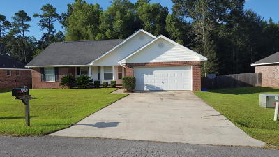 gulfport Single Family Home For Sale: 11244 Peyton Dr