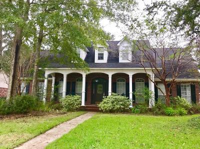Ocean Springs Single Family Home For Sale: 3607 Dijon Ave