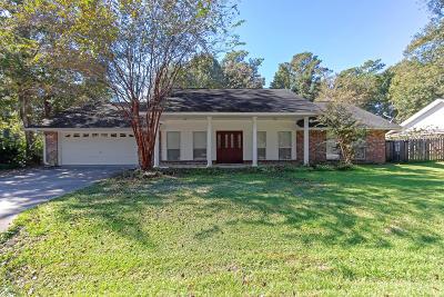 Diamondhead Single Family Home For Sale: 696 Apona St