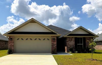 Gulfport Single Family Home For Sale: Lot 6 Tiffany Renee Dr