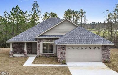 Ocean Springs Single Family Home For Sale: 6860 Biddix Evans Rd