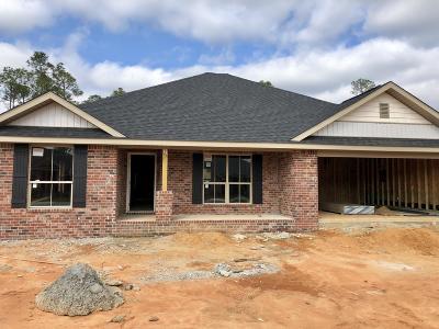 Ocean Springs Single Family Home For Sale: 6864 Biddix Evans Rd