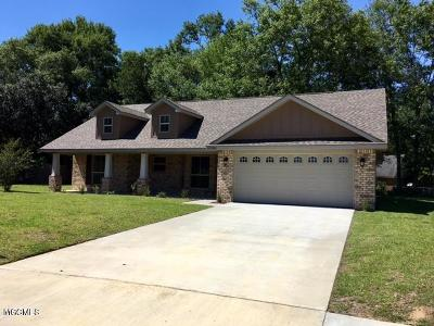 Gulfport Single Family Home For Sale: Lot 38 Roundhill Drive
