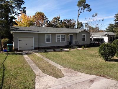 Gulfport Single Family Home For Sale: 3503 Belmede Dr