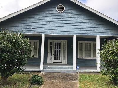 Gulfport MS Single Family Home Pending Continue To Show: $99,000