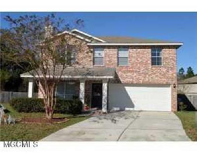 Gulfport Single Family Home For Sale: 10231 English Manor Dr