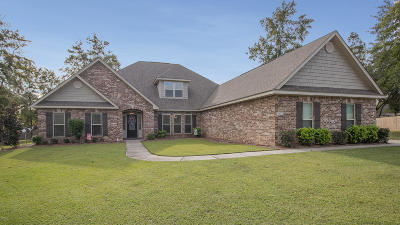 Biloxi Single Family Home For Sale: 7815 Zachary Oaks Dr