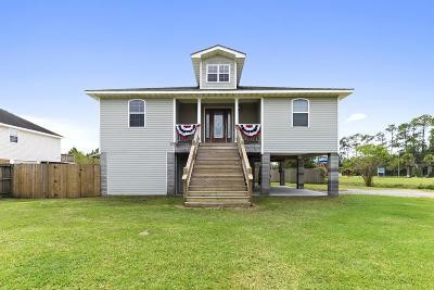 Bay St. Louis Single Family Home For Sale: 3117 Washington St