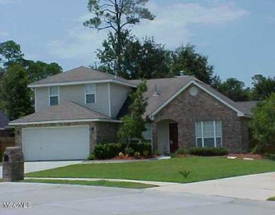 Biloxi MS Single Family Home For Sale: $199,900