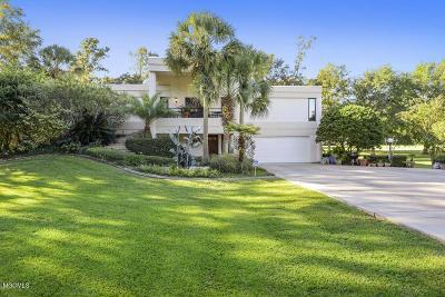 Diamondhead Single Family Home For Sale: 7607 Fairway Dr